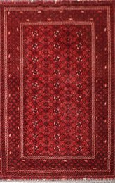 Afghan Fine Old Kundos Red 142091