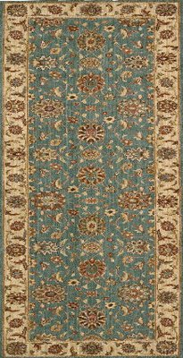 Living Treasures Runner Aqua L105