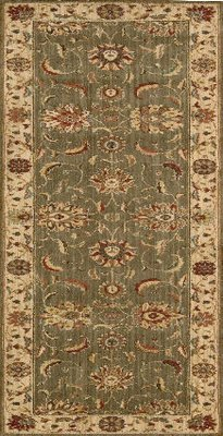 Living Treasures Runner Green L104