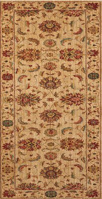Living Treasures Runner Ivory L104