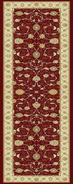 Noble Art Runner Red\Beige 6529/391