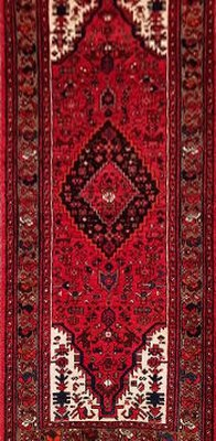 Persian Hamedan Runner Red 142139