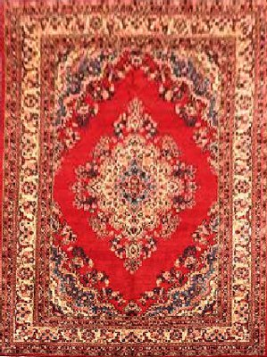 Persian Sarough Red 140426